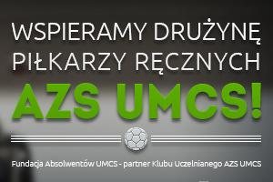Wspieramy AZS UMCS Lublin!