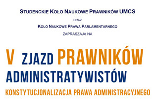 V Zjazd Prawników-Administratywistów na UMCS