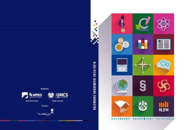 Studenci UMCS otrzymali Kalendarze Akademickie 2014/2015