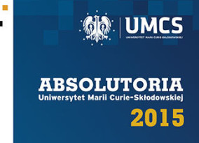 Absolutoria UMCS 2015 – harmonogram
