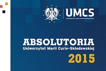 Absolutoria UMCS 2015 – zaproszenie