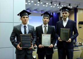 Wręczenie nagród dla laureatów konkursu FA UMCS na Najlepszego Absolwenta UMCS 2015
