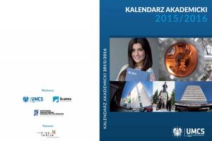 Kalendarz Akademicki UMCS 2015