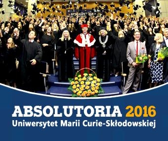 Absolutoria UMCS 2016 – harmonogram wizyt na wydziałach