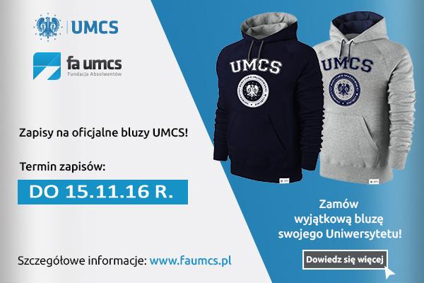 Przedłużamy termin zapisów na bluzy UMCS