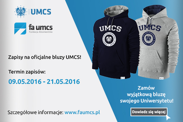 Oficjalne bluzy UMCS